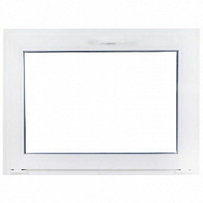 Окно-фрамуга ПВХ одностворчатое откидное однокамерное